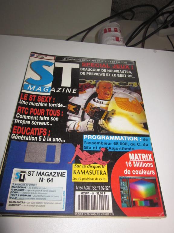 Délottage des jeux Brocante de la Terre du Milieu, MD, MS, GC, DS, Vieux magazines Micros Atari... Img_3614