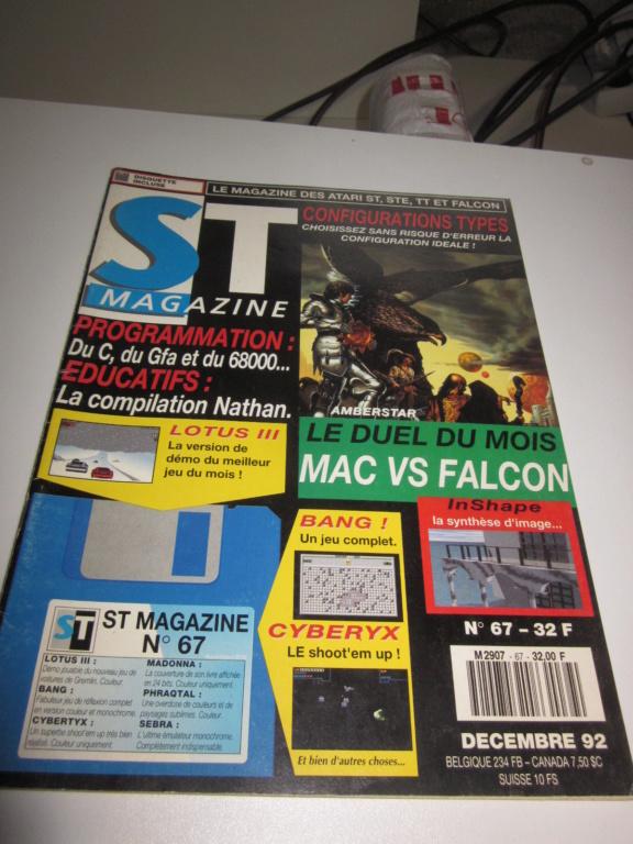 Délottage des jeux Brocante de la Terre du Milieu, MD, MS, GC, DS, Vieux magazines Micros Atari... Img_3615