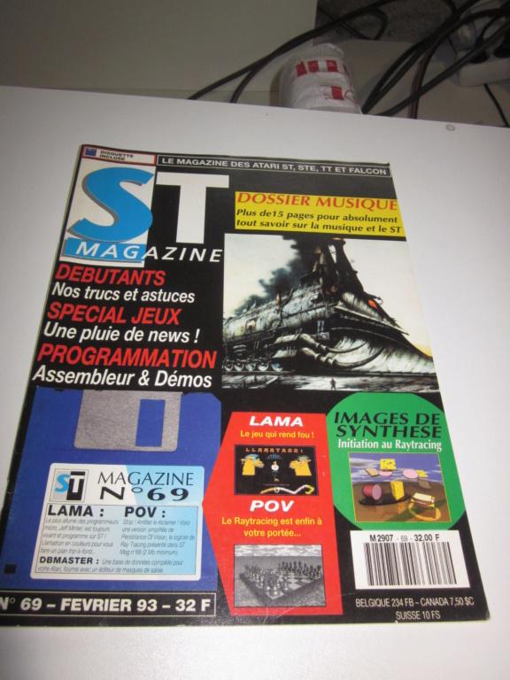 Délottage des jeux Brocante de la Terre du Milieu, MD, MS, GC, DS, Vieux magazines Micros Atari... Img_3616
