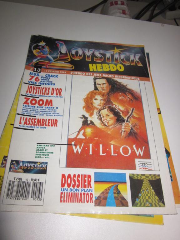Délottage des jeux Brocante de la Terre du Milieu, MD, MS, GC, DS, Vieux magazines Micros Atari... Img_3617