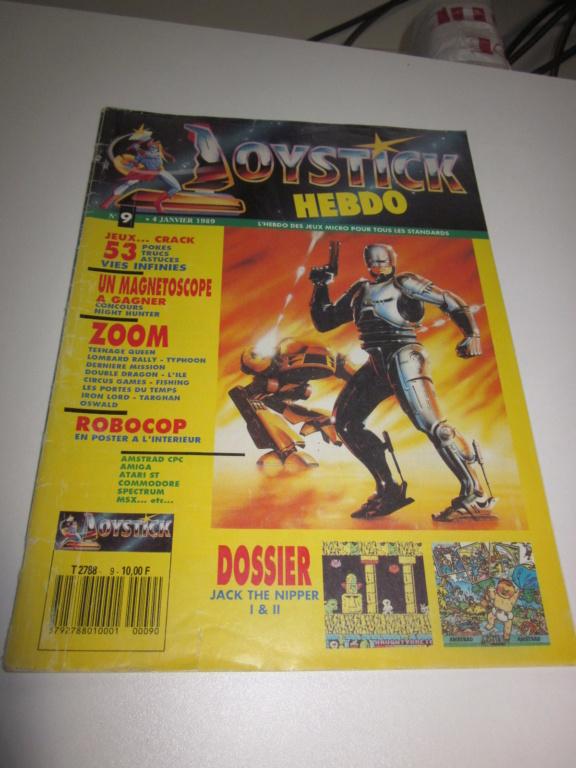 Délottage des jeux Brocante de la Terre du Milieu, MD, MS, GC, DS, Vieux magazines Micros Atari... Img_3618