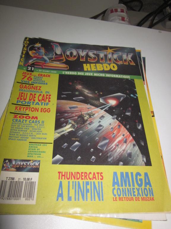 Délottage des jeux Brocante de la Terre du Milieu, MD, MS, GC, DS, Vieux magazines Micros Atari... Img_3619