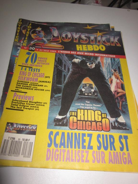 Délottage des jeux Brocante de la Terre du Milieu, MD, MS, GC, DS, Vieux magazines Micros Atari... Img_3620