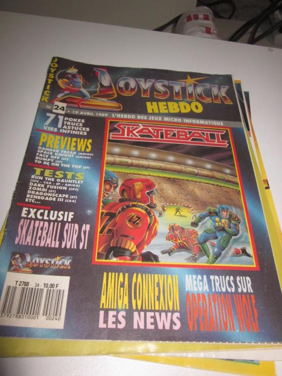 Délottage des jeux Brocante de la Terre du Milieu, MD, MS, GC, DS, Vieux magazines Micros Atari... Img_3621