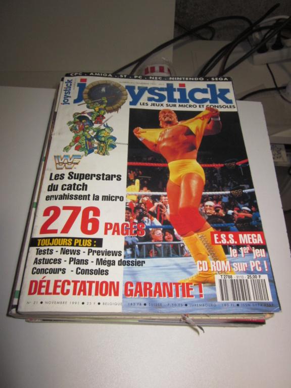 Délottage des jeux Brocante de la Terre du Milieu, MD, MS, GC, DS, Vieux magazines Micros Atari... Img_3622
