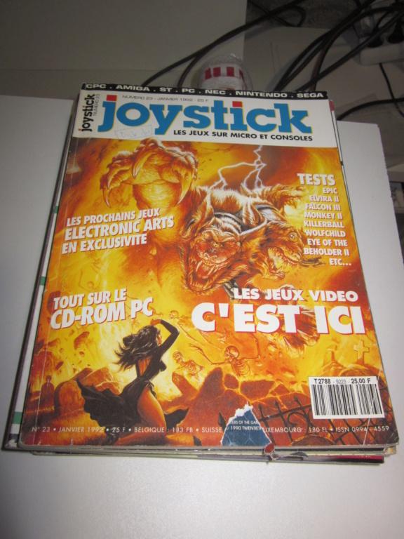 Délottage des jeux Brocante de la Terre du Milieu, MD, MS, GC, DS, Vieux magazines Micros Atari... Img_3623