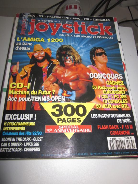 Délottage des jeux Brocante de la Terre du Milieu, MD, MS, GC, DS, Vieux magazines Micros Atari... Img_3624