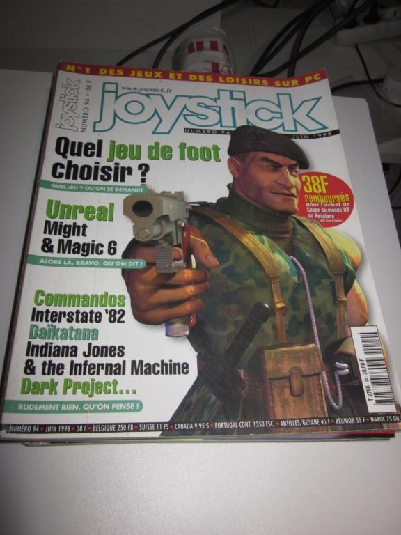 Délottage des jeux Brocante de la Terre du Milieu, MD, MS, GC, DS, Vieux magazines Micros Atari... Img_3625