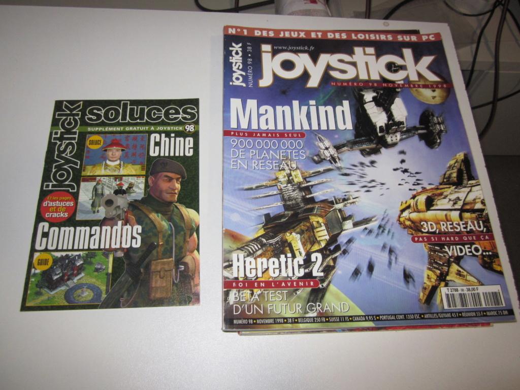 Délottage des jeux Brocante de la Terre du Milieu, MD, MS, GC, DS, Vieux magazines Micros Atari... Img_3626