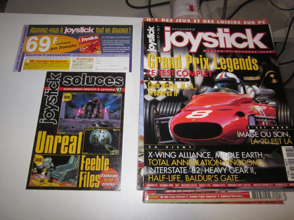 Délottage des jeux Brocante de la Terre du Milieu, MD, MS, GC, DS, Vieux magazines Micros Atari... Img_3627