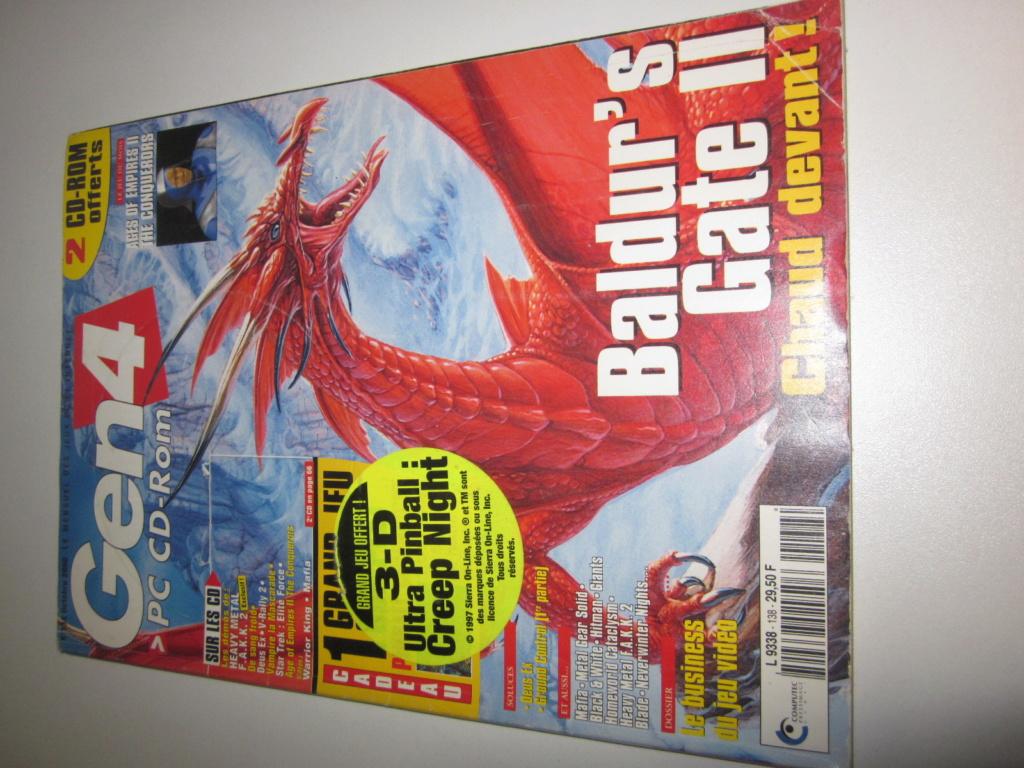 Délottage des jeux Brocante de la Terre du Milieu, MD, MS, GC, DS, Vieux magazines Micros Atari... Img_3631