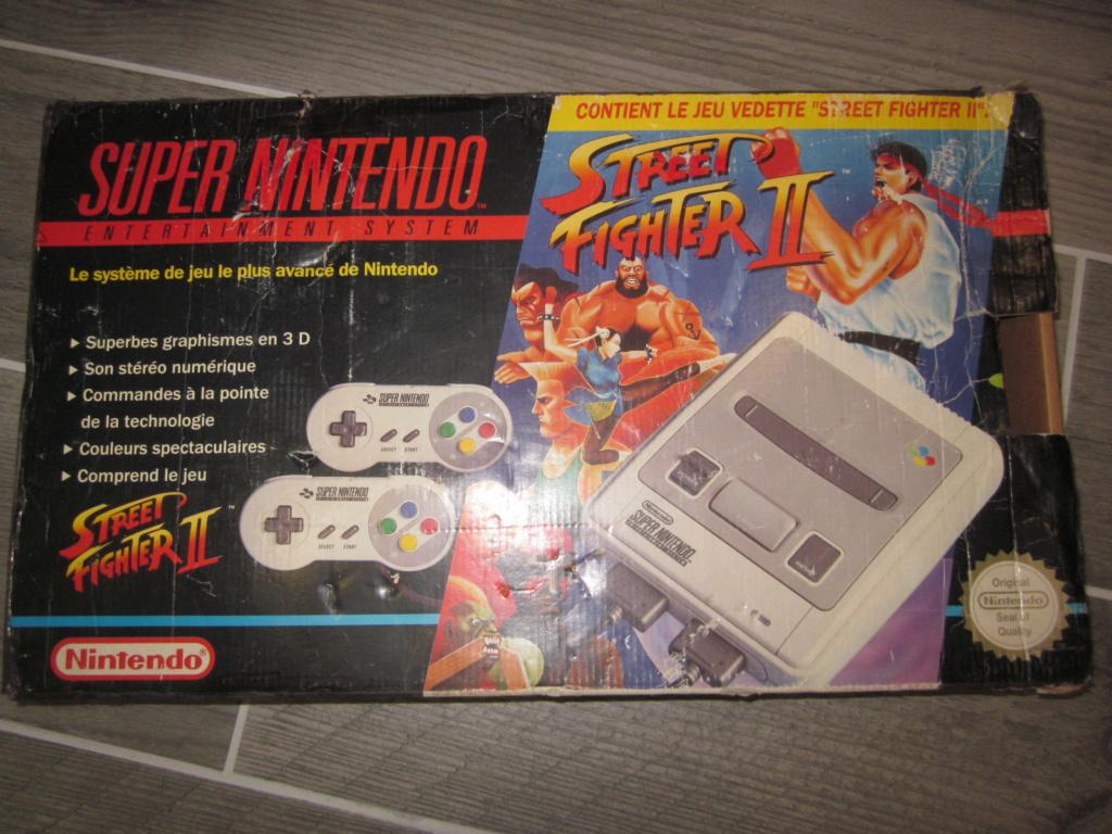 [Vendu] Console Super Nintendo Pack Street Fighter 2 Boite état moyen Img_4227