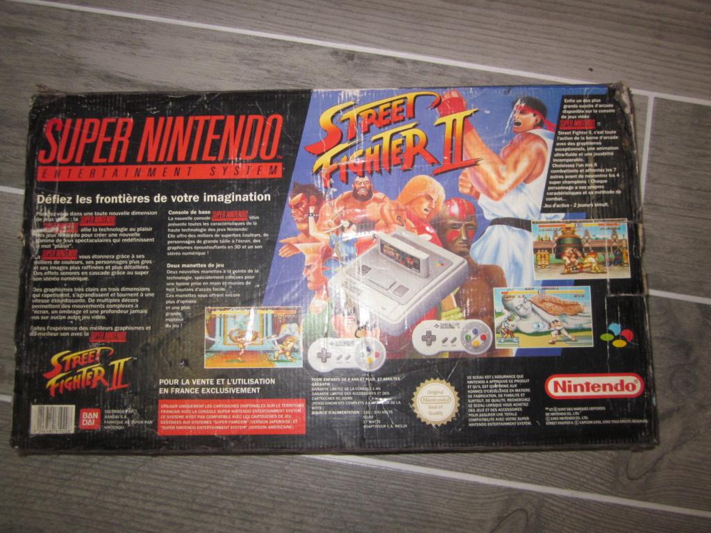[Vendu] Console Super Nintendo Pack Street Fighter 2 Boite état moyen Img_4228