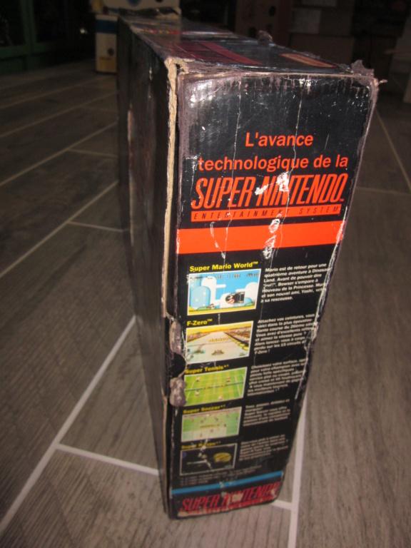 [Vendu] Console Super Nintendo Pack Street Fighter 2 Boite état moyen Img_4230