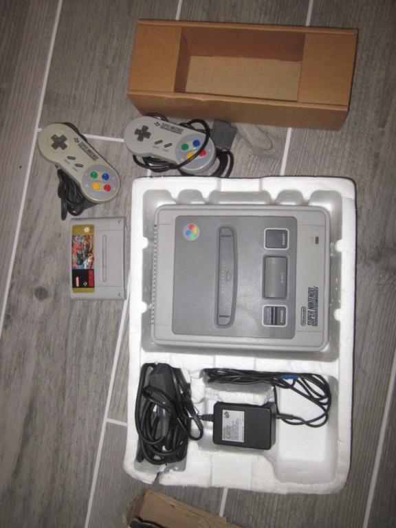 [Vendu] Console Super Nintendo Pack Street Fighter 2 Boite état moyen Img_4231