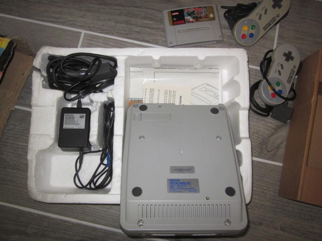 [Vendu] Console Super Nintendo Pack Street Fighter 2 Boite état moyen Img_4232
