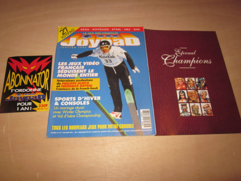 [RECH] Magazines,  Jeux Manettes Megadrive NeoGeo Consoles - Page 10 Img_5810