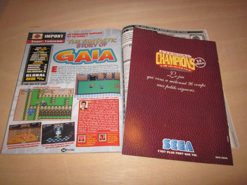 [RECH] Magazines,  Jeux Manettes Megadrive NeoGeo Consoles - Page 10 Img_5811