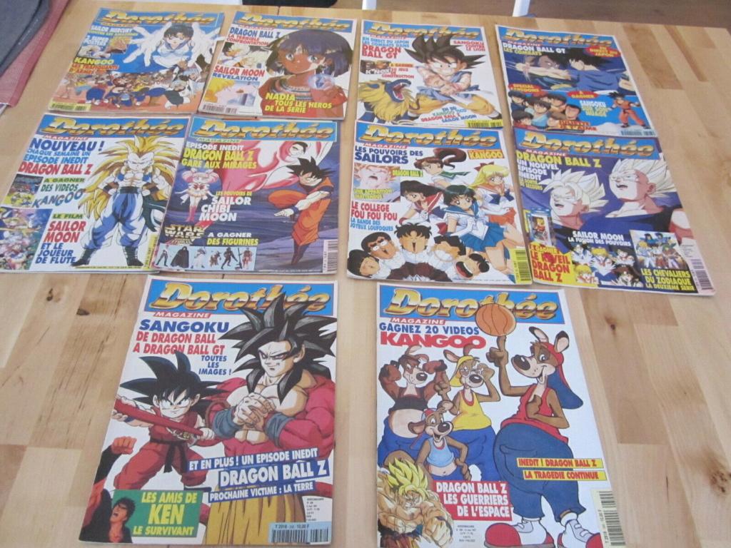 [Vendu] Dorothée magazine plus de 100 magazines de 1992 à 2000 S-l16024