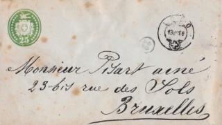 Nummer auf einer Briefmarke 1679a710