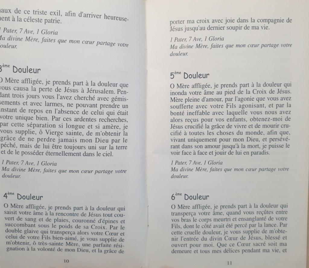 La DÉVOTION aux DOULEURS de MARIE Chapel10