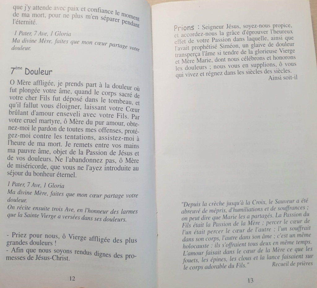 La DÉVOTION aux DOULEURS de MARIE Chapel12