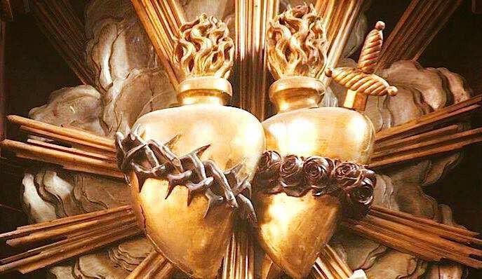 L'ANNÉE MARIALE par la Mère de Chaugy - Page 23 Coeurs11