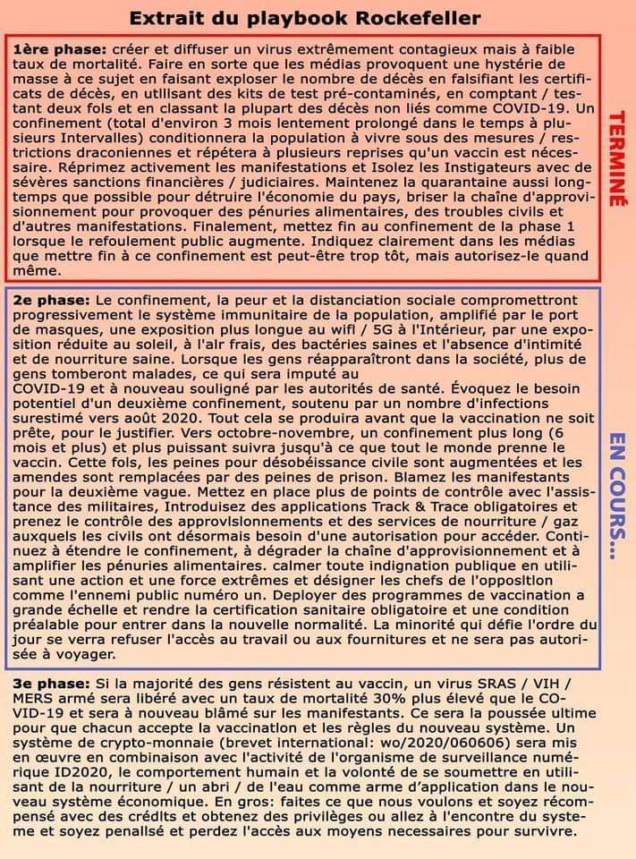 PLAN SATANIQUE pour l'ARRIVÉE de l'ANTÉCHRIST (pour lors Bergoglio) Extrai10