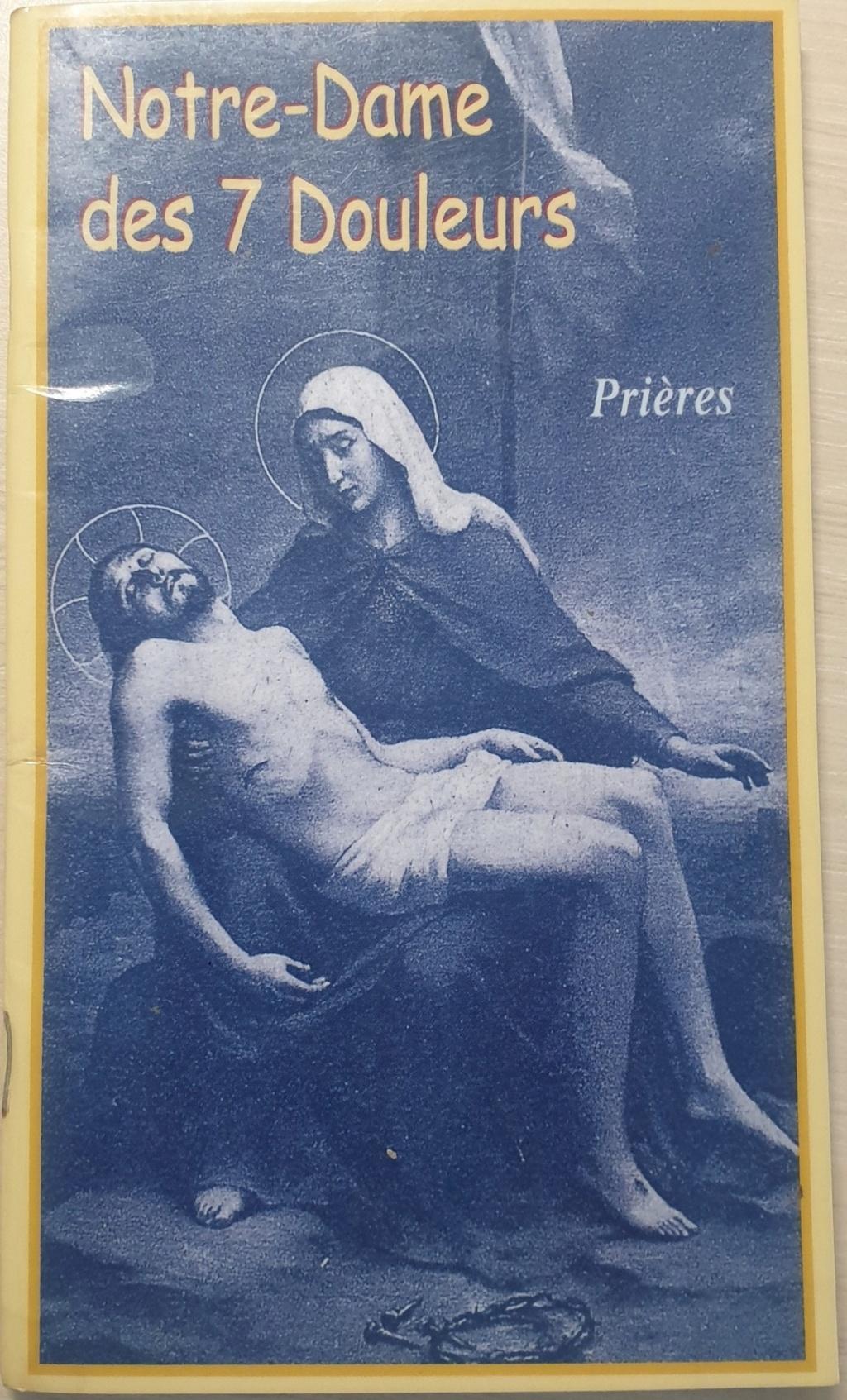 La DÉVOTION aux DOULEURS de MARIE Livret10