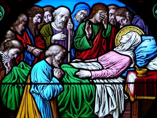 CALENDRIER CATHOLIQUE 2020 (Cantiques, Prières & Images) - Page 23 Mort_d11
