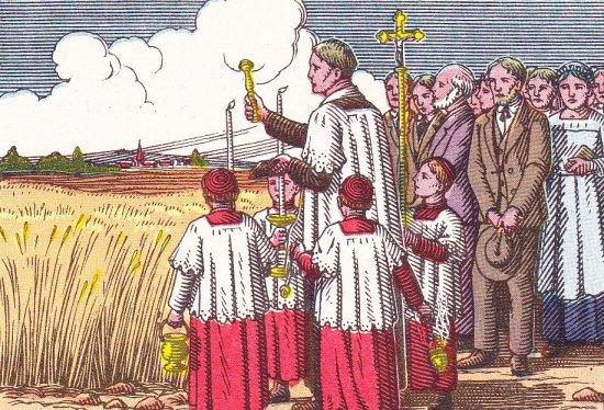 CALENDRIER CATHOLIQUE 2020 (Cantiques, Prières & Images) - Page 14 Rogati10