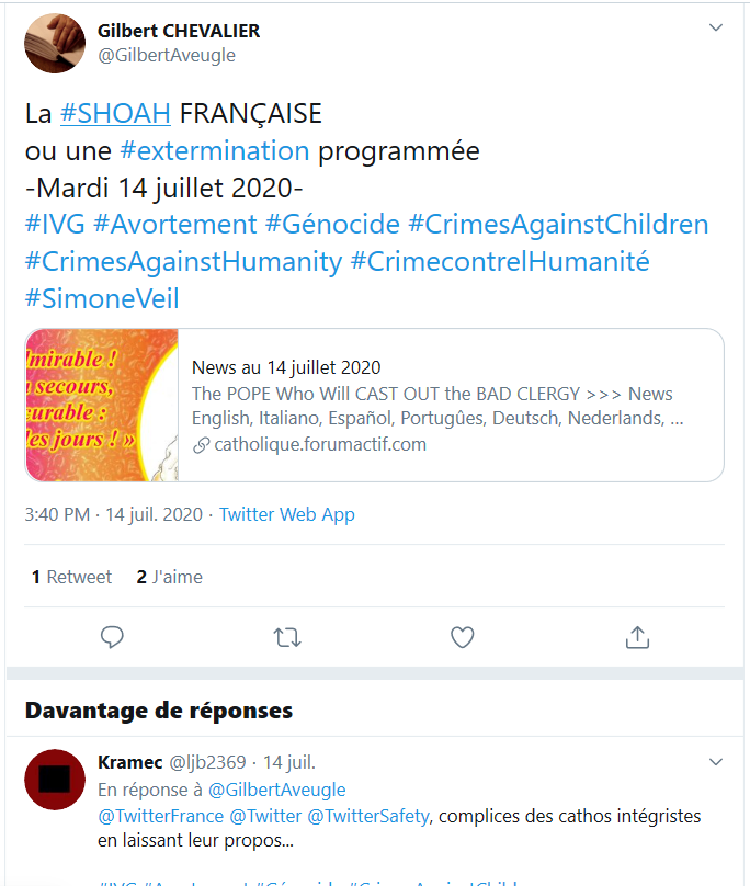 News au 18 juillet 2020 Tweet_10