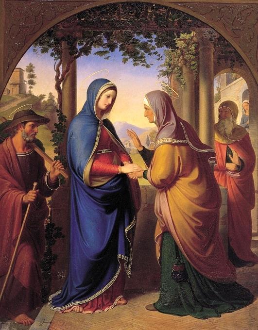 L'ANNÉE MARIALE par la Mère de Chaugy - Page 27 Visita11