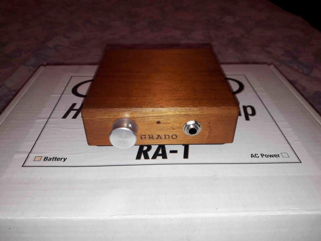 ( VB ) Vendo Amplificatore Cuffie GRADO RA-1 (a batteria). 02-e10