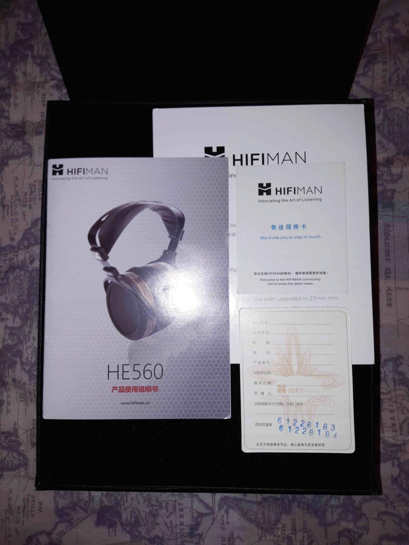 ( VB ) HifiMan HE-560.Cuffie-Perfette in Garanzia. 0223