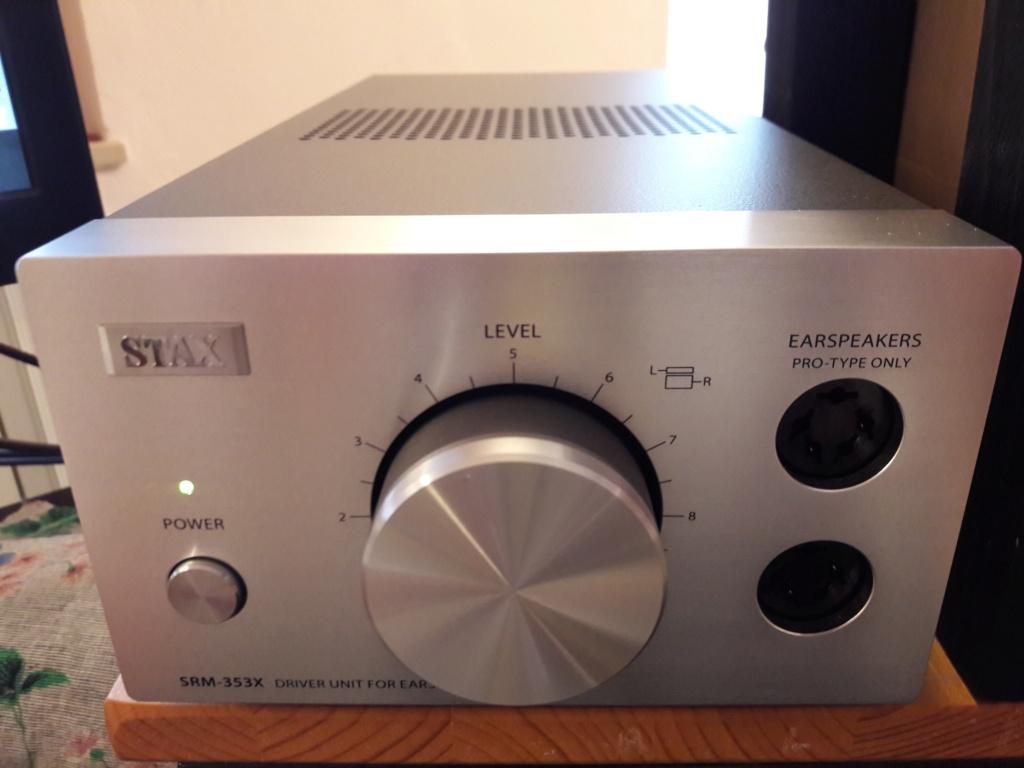 ( VB ) Vendo STAX SRM-353X.Amplificatore a stato solido ** NUOVO in GARANZIA. 1-201813