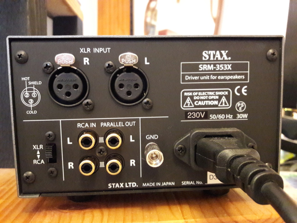 ( VB ) Vendo STAX SRM-353X.Amplificatore a stato solido ** NUOVO in GARANZIA. 2-201813