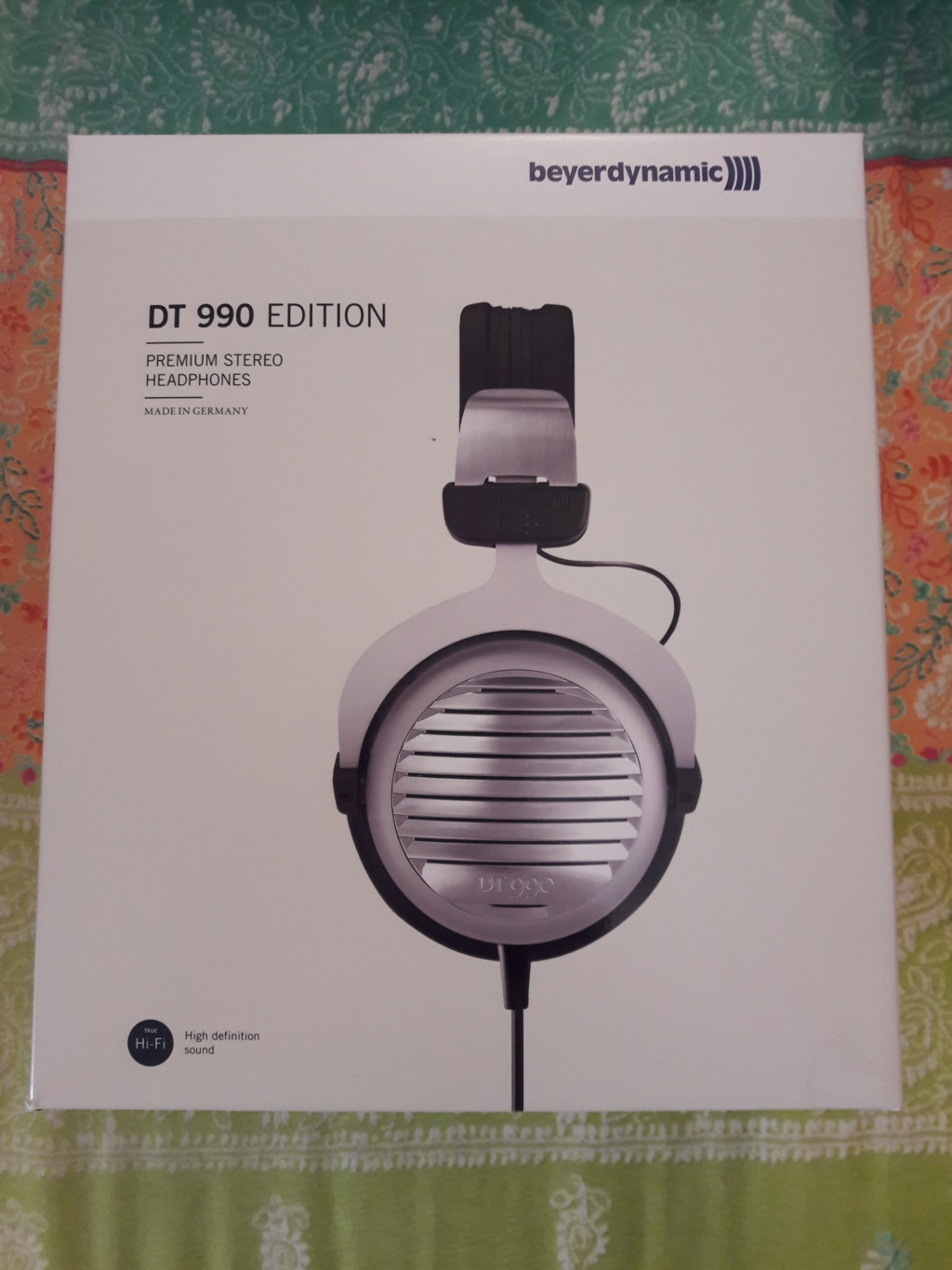 [ RITIRATO DALLA VENDITA ] Grazie. ( VB ) Vendo Beyerdynamic DT-990 Edition 250 Ohm/Dynamic Headphone.IN GARANZIA. 20180911