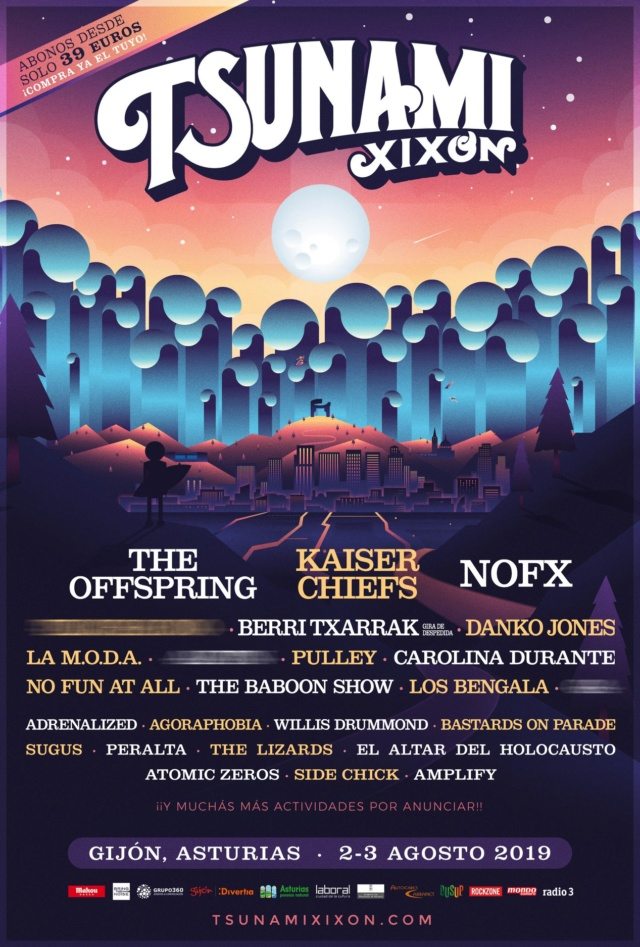 Tsunami Xixón 2019: NOFX, The Offspring, Berri Txarrak, Danko Jones...  - Página 4 51377810
