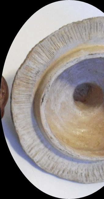 grotesque banko ware ? pottery tobacco jar Aviary28