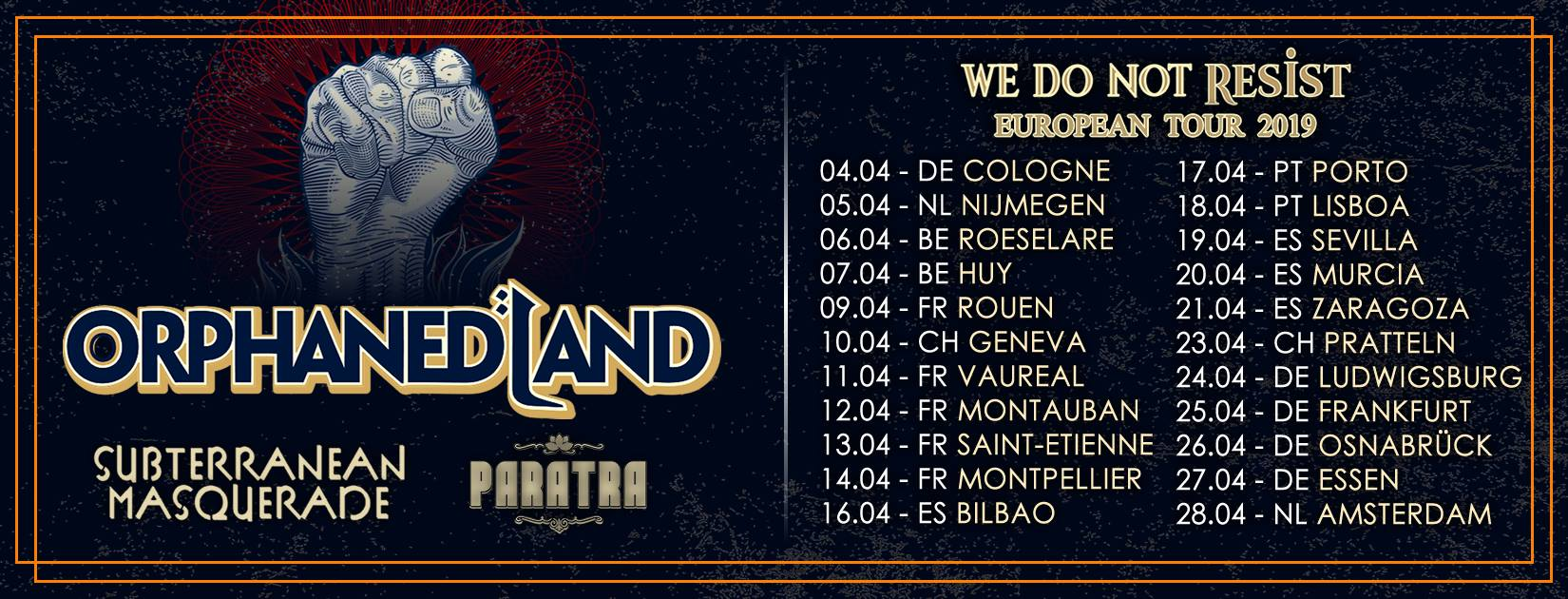 Orphaned Land - avril 2019 42645910