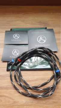 Kubala Sosna Anticipation Interconnect XLR Cable, 1.5m 20200932