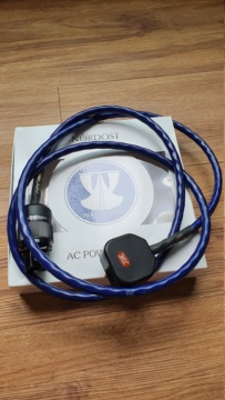 Nordost Blue Heaven power cord, UK plug, 2m - Sold 20200938