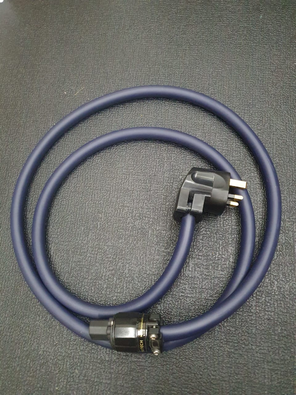 Furutech Power Cable, UK plug, Alpha Nano Series Cable (Used) F810
