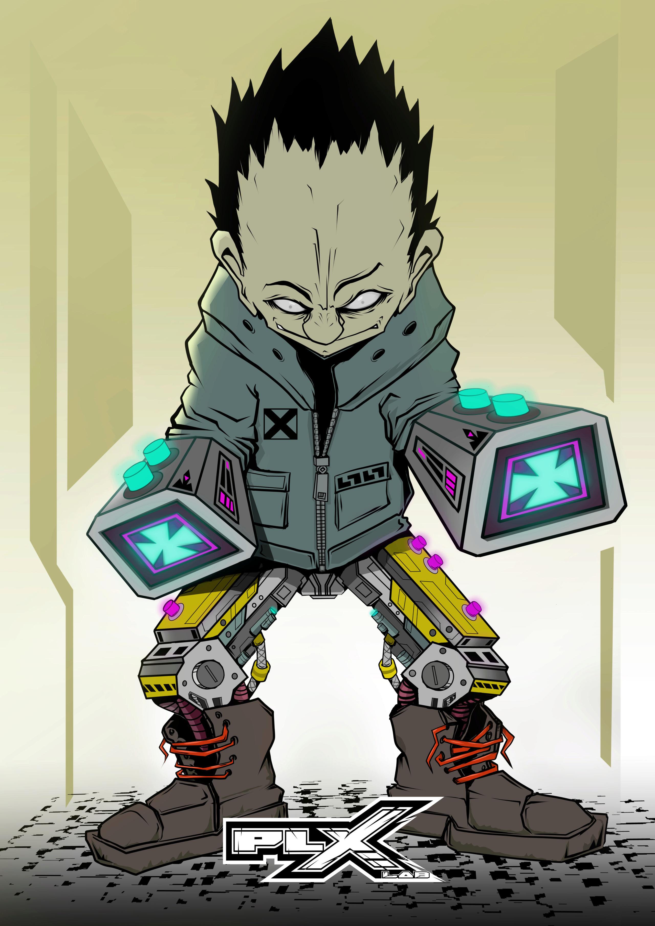 Hello tout le monde !moi c'est PLX et  je vous présente mon univers  Cybern10