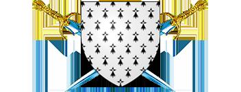 Création du régiment de Bretagne - chef de corps Gilbert Chevalier Blasre13