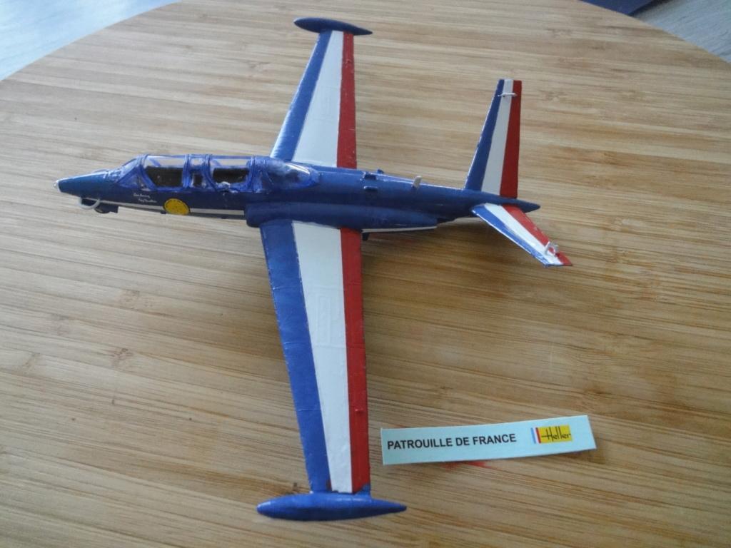 FOUGA CM 170 MAGISTER Patrouille de FRANCE Réf coffret 53001 Dsc04328