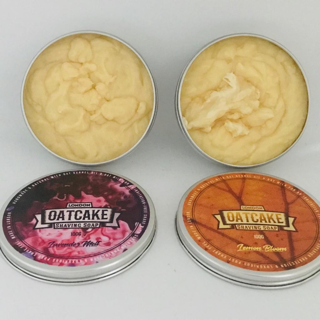 Présentation london oatcake shaving soap Img_1710