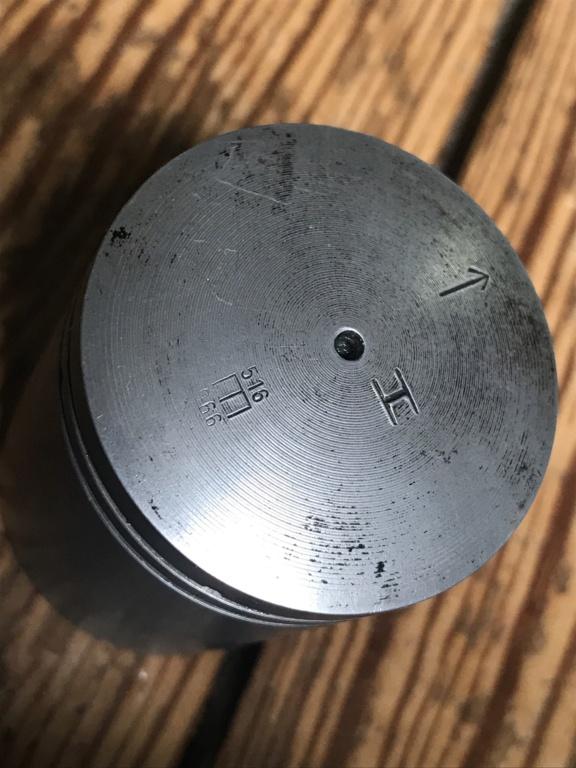 Usure cylindre alu chrome dur et piston Flandria (Moteur anguleux) A51f0410
