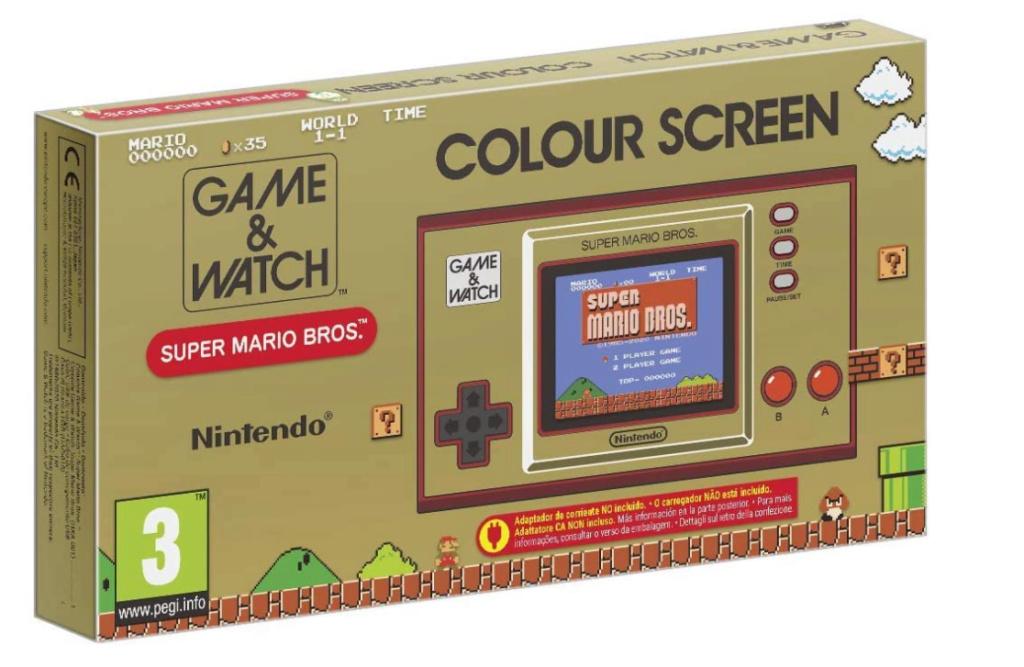 Preco Game & Watch: Super Mario Bros. Gaw10